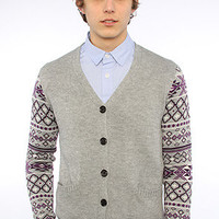 February Fourth The Native Cardigan 2 in Grey Heather