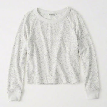 Womens Terry Crew Sweatshirt | Womens Tops | Abercrombie.com