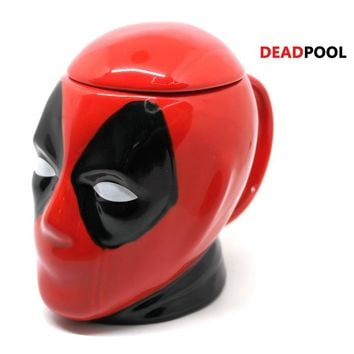 Creative DeadPool 3D Mug Ceramic Coffee Mug Gift 450ml
