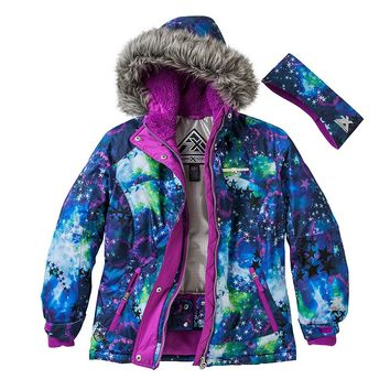 ZeroXposur Yola Hooded Snowboard Jacket - Girls
