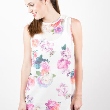 MINKPINK Neon Nature Tank Dress