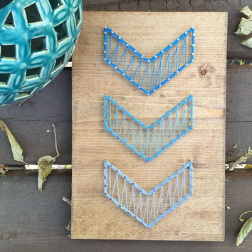 Baby Nursery, Nursery Decor, Baby Shower, Arrow String Art, Chevron Decor, Gallery Decor, Rustic Wall Art, Rustic Decor