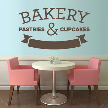 rvz1327 Wall Decal Vinyl Sticker Decals Words Sign Quote Bakery