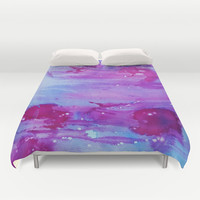 Wash it Away Duvet Cover by DuckyB (Brandi)