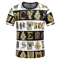 VERSACE Trending Men Casual T-Shirt Top Tee