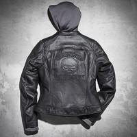 Skull 3-in-1 Leather Jacket
