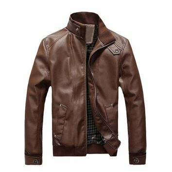 New Faux Leather Jackets for Men size mlxl