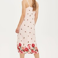 PETITE Floral Border Slip Dress | Topshop