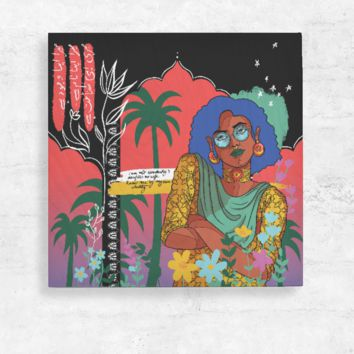 Aisha Wood Wall Art