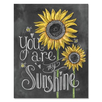 You Are My Sunshine - Print & Canvas