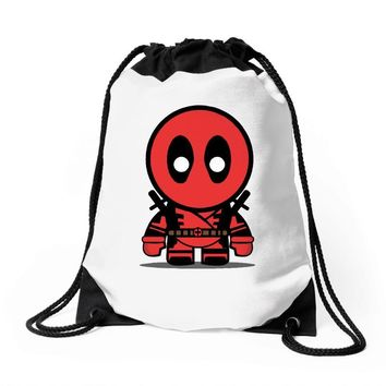 deadpool Drawstring Bags