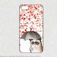 Cat ,iPhone 5 Case,cats heart Love iPhone 5S  Hard Case,Cut art Cat cover skin case for iphone 5 case,samsung galaxy S3 S4 S5 case