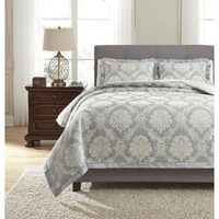 Q332003Q Joisse Queen Comforter Set - Sage - Free Shipping!