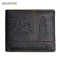 Mens Leather Wallets Bifold Wallet Pockets Credit/ID Card Receipt Holder Coin Purse Card Holder Multi position wallet Coin Purse SN9