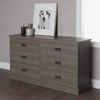 South Shore Gloria 6 Drawer Double Dresser