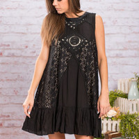 Fierce And Flirt Dress, Black
