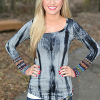 Lunar Love Tie Dye Top