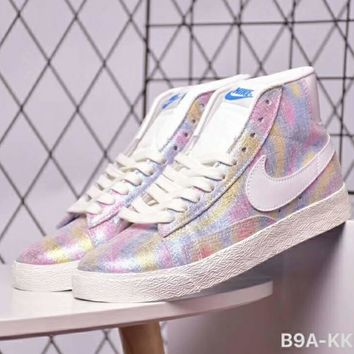 Nike WMNS BLAZER LOW SUEDE VNTG High Top Sneakers F-CSXY