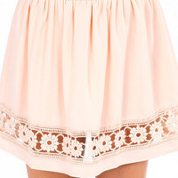 Peeking Petals Skirt $29