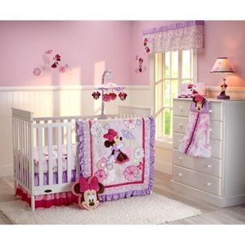 Disney Baby Butterfly Dreams 4-Piece Crib Bedding Set