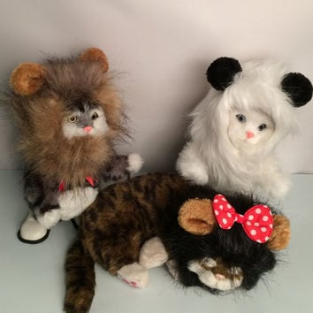Pet Costume Wig Halloween Dress Up With Ears Festival [6465913092]