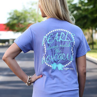 Southern Darlin Collection: Pearls Always Match The Monogram