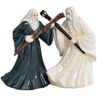 Gandalf & Saruman Salt & Pepper Shakers -  Lord of the Rings:  Various Items Westland Giftware