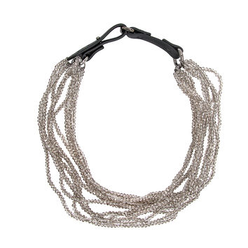 Brunello Cucinelli Quartz Beaded Multistrand Necklace