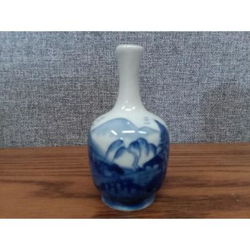 Chinese Round Miniature Porcelain Bottles