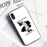 Aesthetic indie Quotes coque Soft Silicone Phone Case Cover Shell For Apple iPhone 5 5s Se 6 6s 7 8 Plus X XR XS MAX