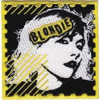 Blondie Men's Postage Embroidered Patch Yellow