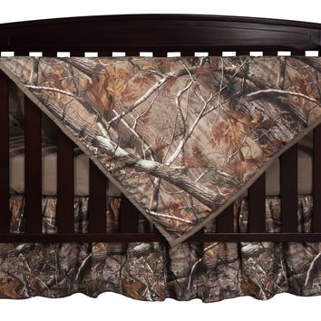 Realtree AP Camo Three Piece Crib Set