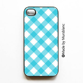 Buffalo Check/Gingham  iPhone 4 Case by HipsterCases on Etsy