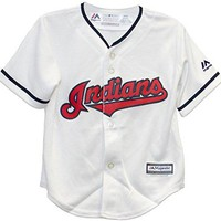 Cleveland Indians Home Cool Base Toddler Jersey