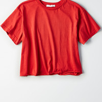 Don't Ask Why Boxy T-Shirt, Cherry