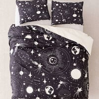 Heather Dutton For Deny Solar System Duvet Cover | Urban Outfitters