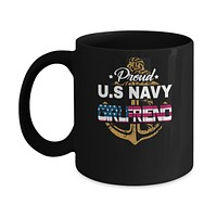Proud US Navy Girlfriend Mug