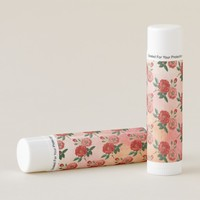 Vintage Rose Design Lip Balm