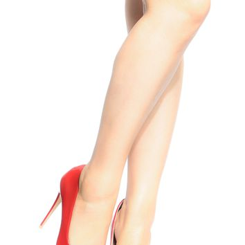 Red Faux Patent Leather Pointy Toe Classic Pumps @ Cicihot Heel Shoes online store sales:Stiletto Heel Shoes,High Heel Pumps,Womens High Heel Shoes,Prom Shoes,Summer Shoes,Spring Shoes,Spool Heel,Womens Dress Shoes