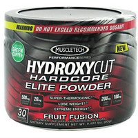 MuscleTech Hydroxycut Hardcore Elite Powder, 30 Servings