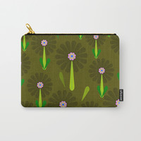 zappwaits Flower Carry-All Pouch by netzauge