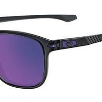 Oakley Sunglasses ENDURO Black Ink Frame Black Violet Iridium Polarized Lens