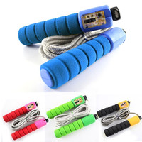 Counter Number Workout Sporting Boxing Gym Skipping Ropes Yoga Speed Jump Ropes (Size: 1, Color: Multicolor) = 1931855876