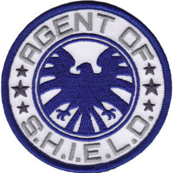 The Avengers Iron-On Patch Round Agent Of SHIELD Logo