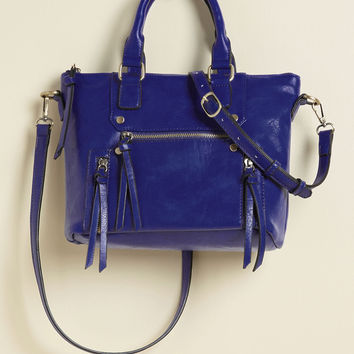 At the Carry Least Bag in Sapphire | Mod Retro Vintage Bags | ModCloth.com