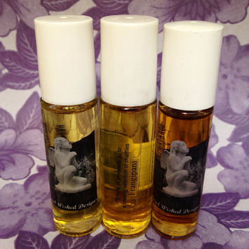 Frangipani fragrance oil  1/3 ounce  roll-on