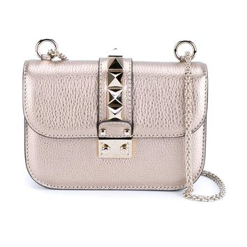 VALENTINO   Rockstud Shoulder Bag   brownsfashion.com   The Finest Edit of Luxury Fashion   Clothes, Shoes, Bags and Accessories for Men & Women