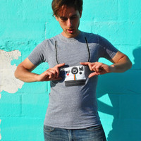 Polaroid Camera Strap t-shirt