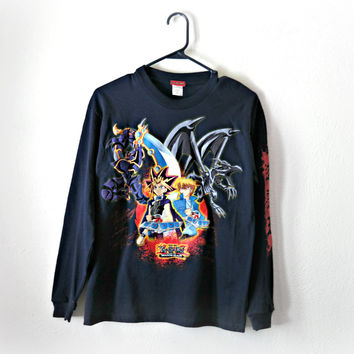 VINTAGE Yu-Gi-Oh! Sweater - Medium