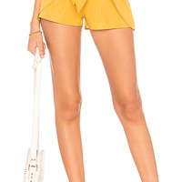 Cleobella X REVOLVE Indio Short in Yellow Multi Lurex | REVOLVE